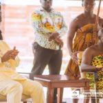 Mahama calls on Asantehene; unveils development plan for Ashanti Region