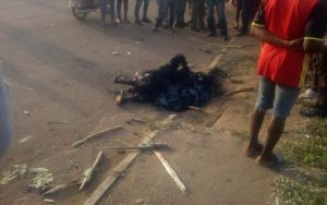 Man burnt to ashes over attempt to steal motorbike