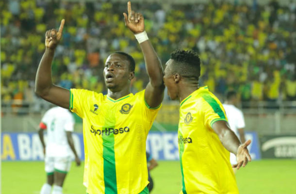 VIDEO: Ghanaian striker Michael Sarpong scores in fierce Yanga vs Simba derby