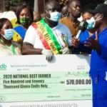 Solomon Kusi adjudged 2020 National Best Farmer; takes home 570,000 cash prize