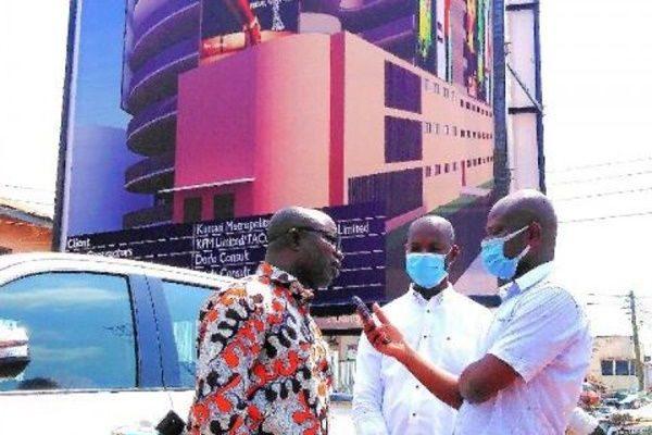 Work begins on Multi-Storey car park to decongest Kumasi CBD