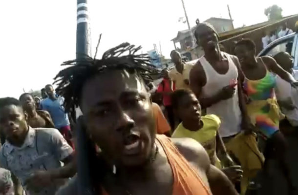 VIDEO: Tema East residents angry over arrest of NDC Parliamentary Candidate