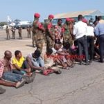 Discharged Secessionists re-arrested