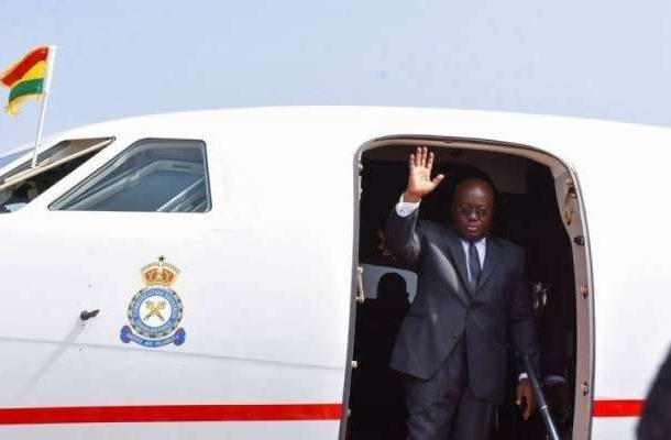 Akufo-Addo leaves Ghana for Sierra Leone's 60th Independence celebration
