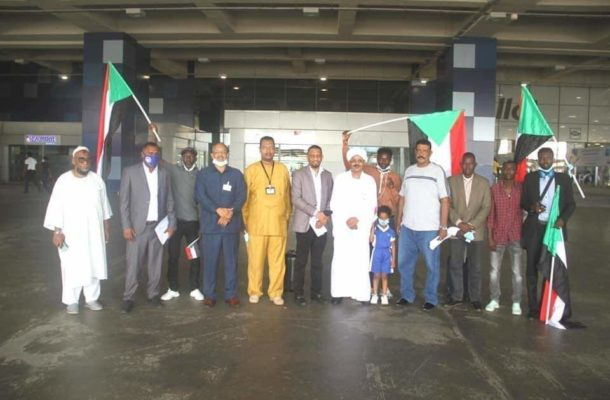PHOTOS: Kotoko opponents in CAF Champions League Al Hilal arrive in Ghana