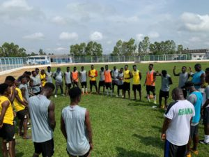 PHOTOS: Black Satellites train ahead of Nigeria clash