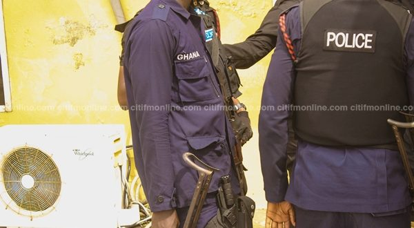Two robbers killed in a shootout with police at Kaneshie