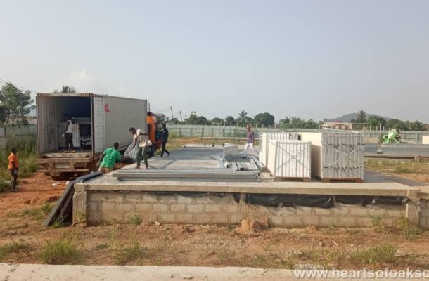 PHOTOS: Second phase of Hearts of Oak's Pobiman Academy Project set to begin