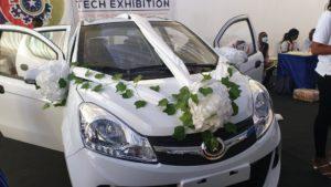 PHOTOS: Kantanka Automobile outdoors small 'Uber' car called Amoanimaa