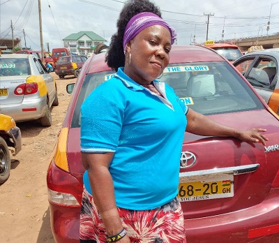 How trained teacher Ms Edith Awuah turned a taxi driver