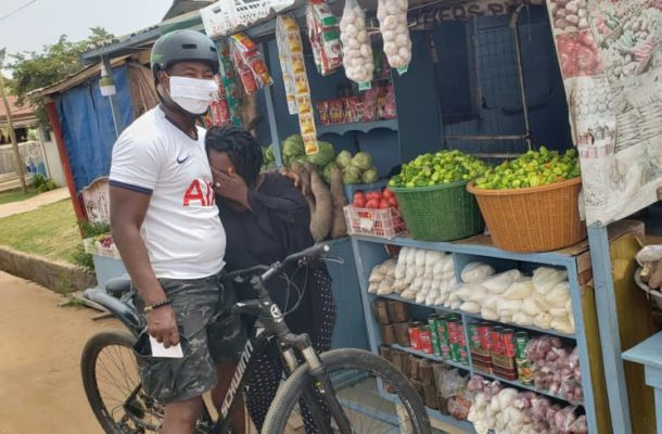 PHOTOS: Dr Okoe Boye embarks on a thank-you tour in his constituency despite defeat