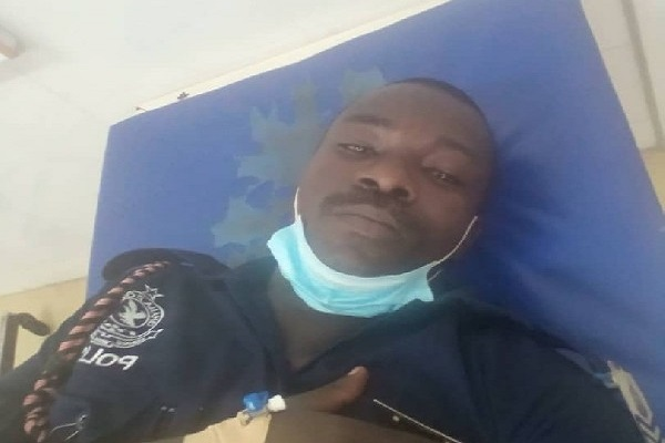 Police officer assaulted by DCE at Ajumako transferred