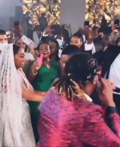 VIDEO: Rudeboy performs at the extravagant wedding of the son of Equatorial Guinea's President