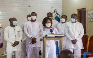 PHOTOS: Abena Osei Asare holds thanksgiving service, victory party at Anyinam