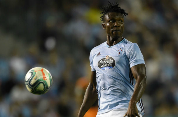 Joseph Aidoo adapting to life with a new manager at Celta Vigo
