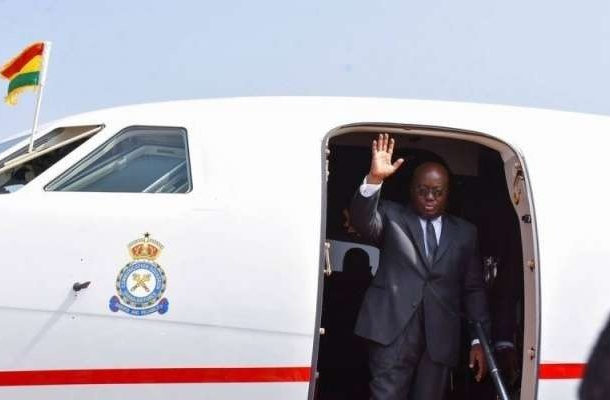 Akufo-Addo leaves Ghana today for Ouattara, Condé inaugurations