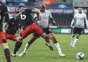 VIDEO: Andre Ayew scores and provides assist as Swansea beat Luton Town