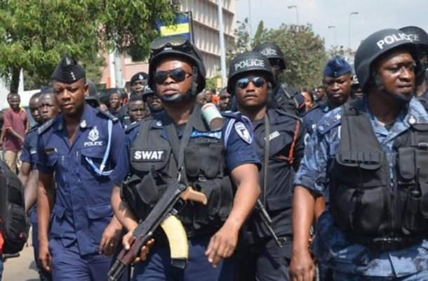 JUST IN: Tamale NDC supporters engage police in a gun battle