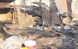 PHOTOS: Four siblings burnt to death