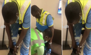 VIDEO: Airport staff arrested for stealing 10 smartphones