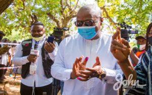 What did John Mahama do wrong, 2020?