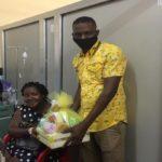 Koforidua: MTN donates hampers to babies born on Christmas Day
