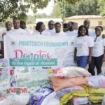 Pamitouch Foundation donates to the aged at Abonse