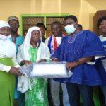 Suhum MCE Margaret Darko donates to Suhum Vocational Institute