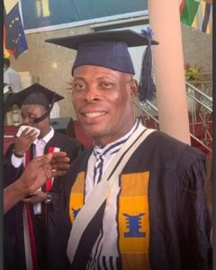 PHOTOS: Actor Prince Yawson 'Waakye' graduates from Bible School