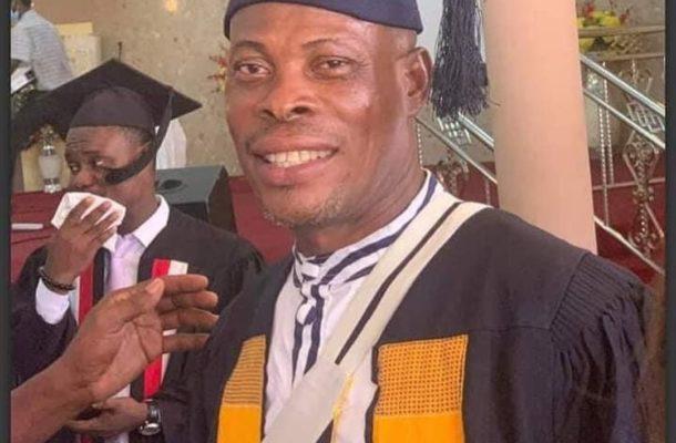 PHOTOS: Actor Prince Yawson 'Waakye' graduates from Bible School
