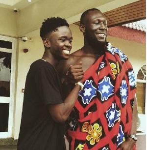 Stormzy, Yaw Tog, Kwesi Arthur visit Manhyia Palace ahead of 'SORE' remix video shoot