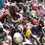 Okada riders arrested for not wearing nose masks