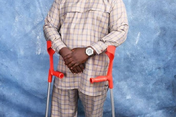 Meet the physically challenged minister to serve under Akufo-Addo