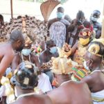 Asantehene receives 'Law of Immovable Property in Ghana' Book