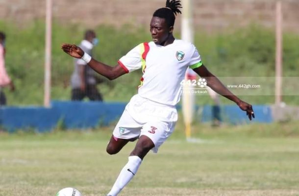 Techiman Eleven Wonders defender Rashid Mohammed confident for victory  against  Hearts of oak