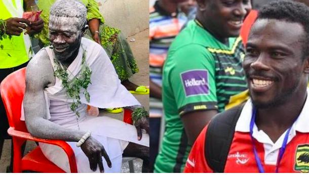 PHOTOS: Former Kotoko defender Augustine Sefah denies being installed a fetish priest