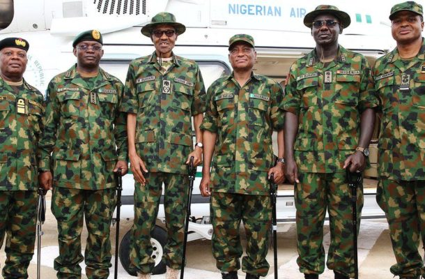 Nigeria's President Buhari fires armed forces chiefs