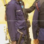 PHOTO: Man bits Police officer's thumb in Central Region