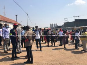 Coca-Cola workers protest over unfair dismissal of colleagues