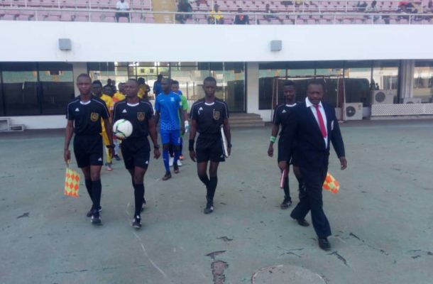 Match officials for Division One League match week 2