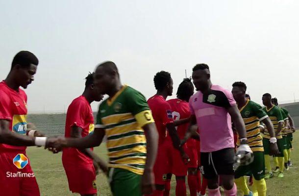 LIVE UPDATES: Ebusua Dwarfs vs Asante Kotoko