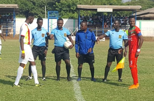 Match officials for Ghana Premier League match week 9