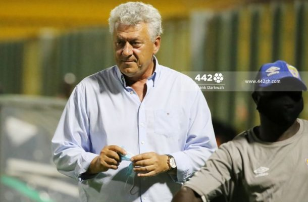 I signed a two year contract with Hearts - Kosta Papic