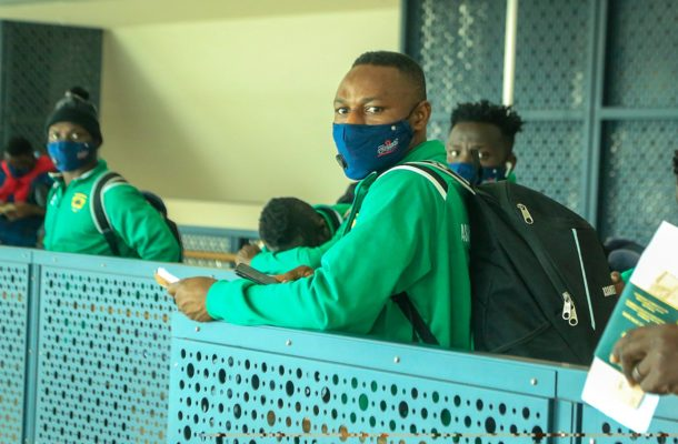 Four Kotoko players and four officials test positive for COVID-19 on arrival in Ghana