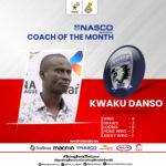 Bechem United coach Kwaku Danso named NASCO coach of the month December