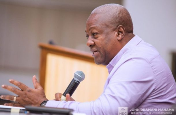 Mahama turns preacher on Good Friday; tells Christians to forgive one another