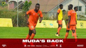 Kotoko's Mudasiru Salifu excited to be back from injury