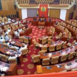NPP MPs arrive in Parliament at 4am to occupy Majority side