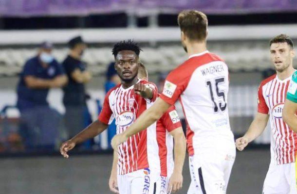 VIDEO: Osei Barnes scores as Nea Salamina wins in Cyprus