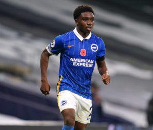 Tariq Lamptey returns to Brighton training after long injury lay off
